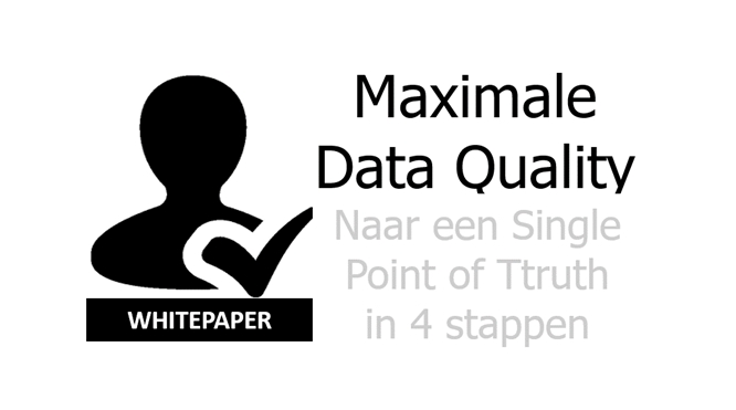 Maximale Data Quality in 4 stappen